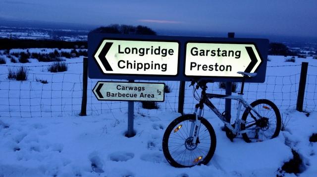 Winter Ride - Beacon Fell