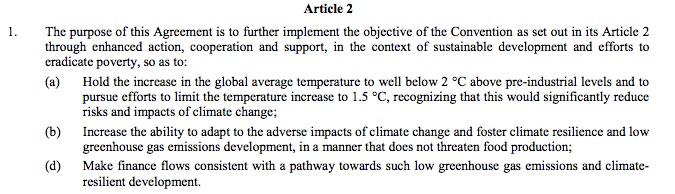 cop21 article 2 draft