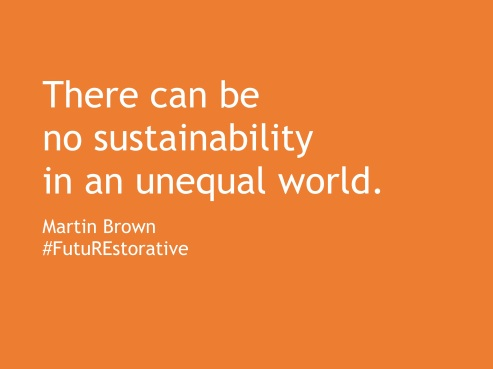no sustainability in an unequal world