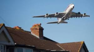 Image result for aircraft over homes""